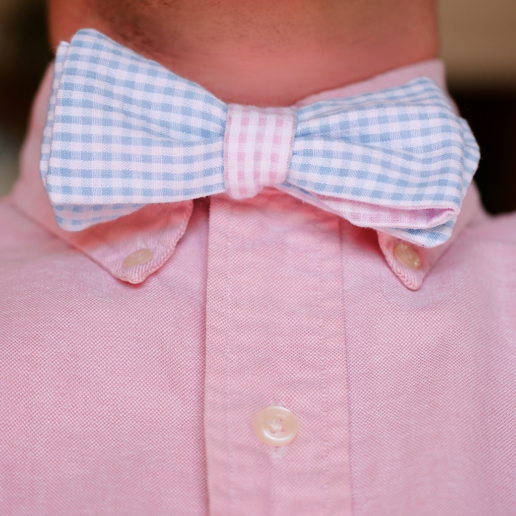 The Charles paired with a classic pink Oxford